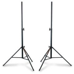 2 x Athletic BOX-4 Professional Heavy Duty Steel Speaker Stand 35mm DJ Band PA
